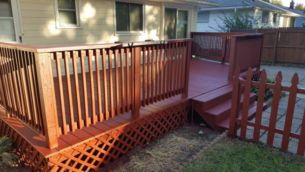Deck Staining - Northeast Ohio