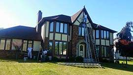 Paint Medics, Inc - Working on a painting project in Northeast Ohio