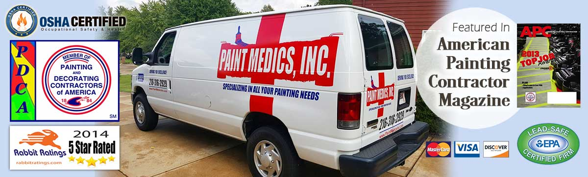 Paint Medics Inc. - Painting Company and Painter in Parma, serving Cleveland and Northeast Ohio