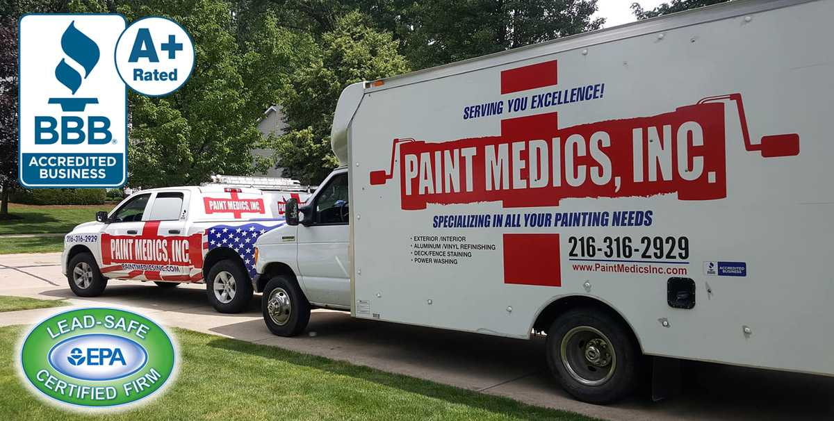 Paint Medics Inc. - Parma, Ohio - Your Local Painting Company Serving Parma, Cleveland & Northeast Ohio