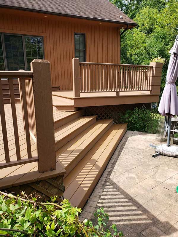 Deck Staining and Painting - Northeast Ohio