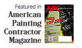 Featured In American Painting Contractor Magazine