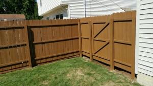 Cleveland, Parma Ohio - Fence Staining, Fence Painting, Fence Refinishing